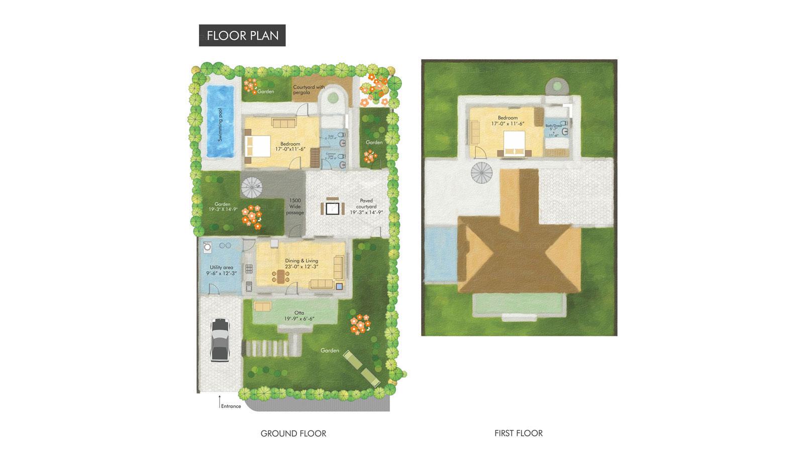 Realism 2d Floor Plans 3d Floor Plans Landscaping Ahmedabad Gujarat India
